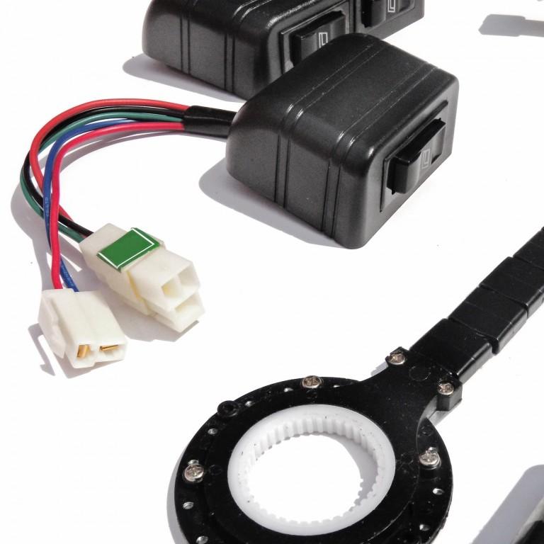 Electric Motor Retrofit Kit: Electric Window Regulator UNIVERSAL Retrofit Kit, 2 + 4